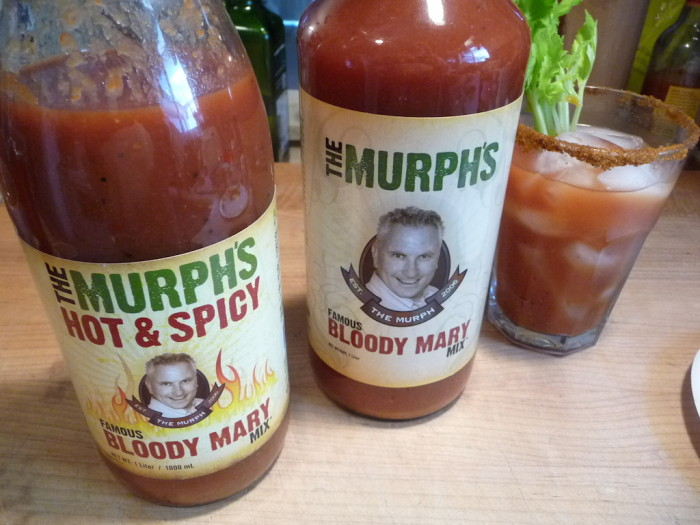 murphs original and hot & spicy bloody mary mix