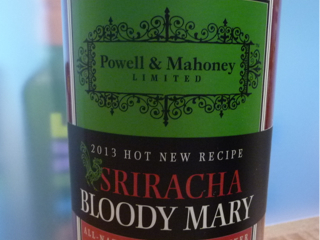 Sriracha Bloody Mary Mixer from Powell and Mahoney