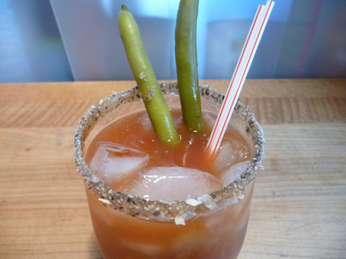 Chili Dans BBQ Bloody Mary recipe