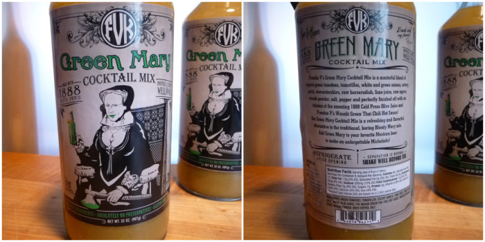 Green Mary Labels