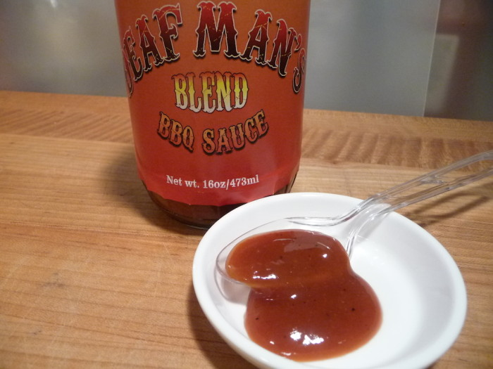 Deaf Man's Mustard Blend BBQ Sauce