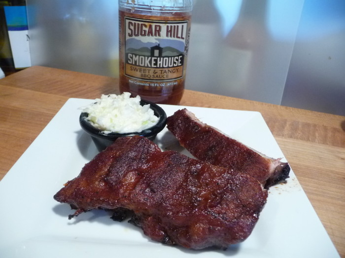 sugarhill sweet and tangy rib rack
