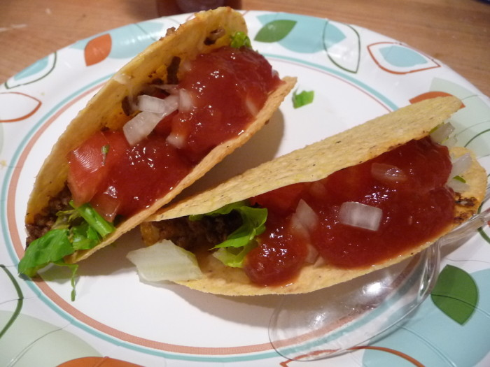 710 Datil Sauce on tacos