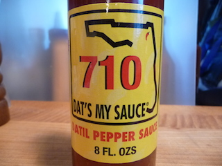 710 Dat's My Sauce Datil Pepper Sauce Review