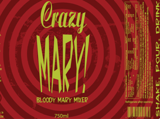 Crazy Mary Bloody Mary Mix