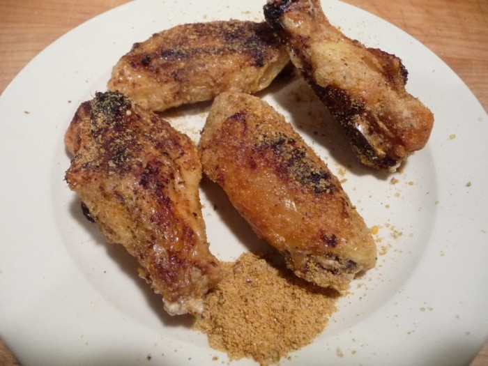 J&D Sriracha Rub - extra on the plate