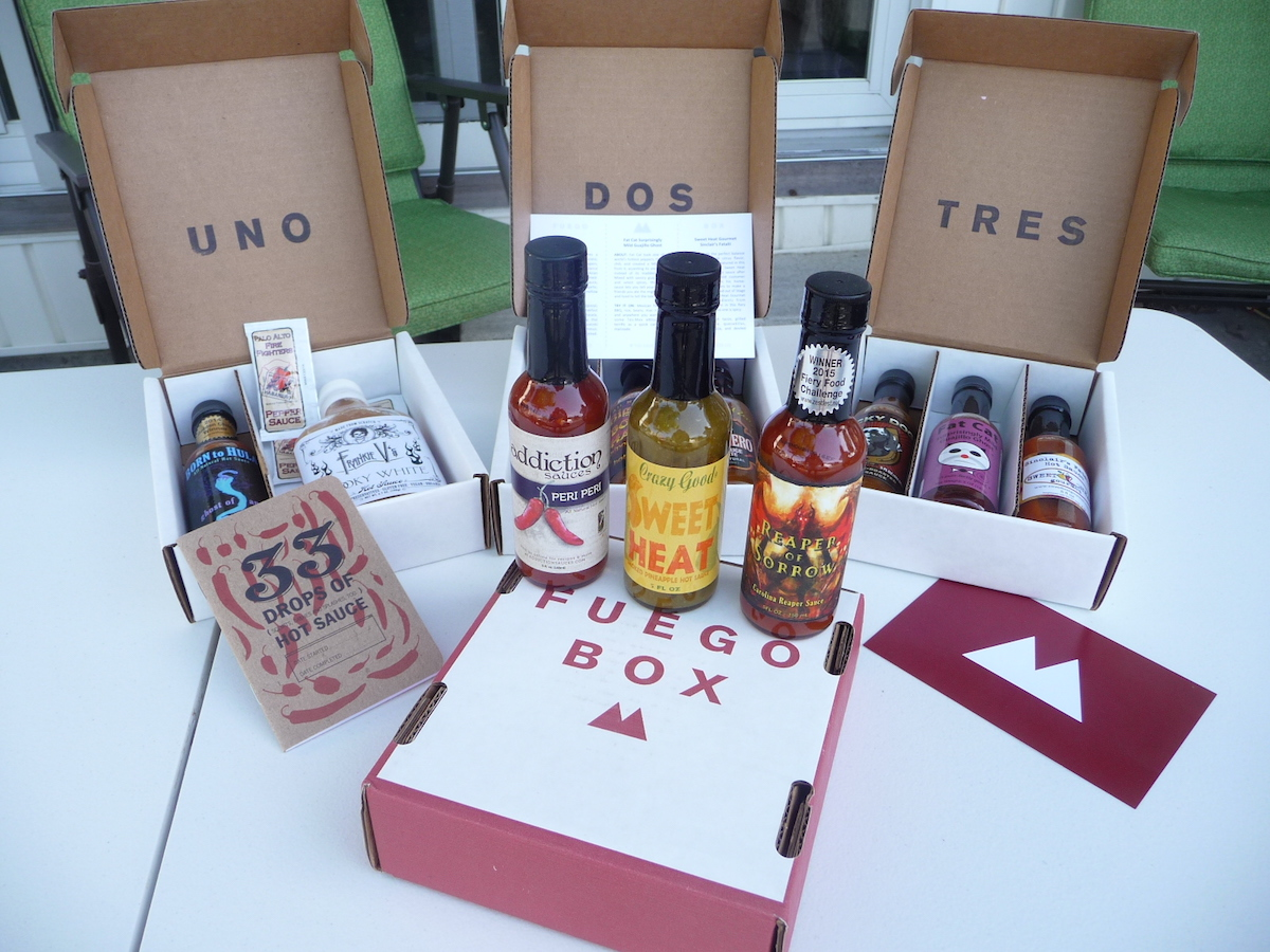 First 4 boxes from FuegoBox.co
