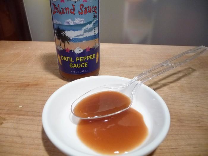 Island Sauce Datil Sauce sample