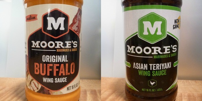 Moore's Original Buffalo and Teriyaki Wing Sauces