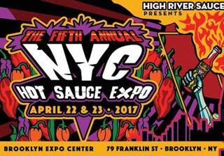 NYC Hot Sauce Expo 2017 Celebrates 5th Anniversary April 22 – 23