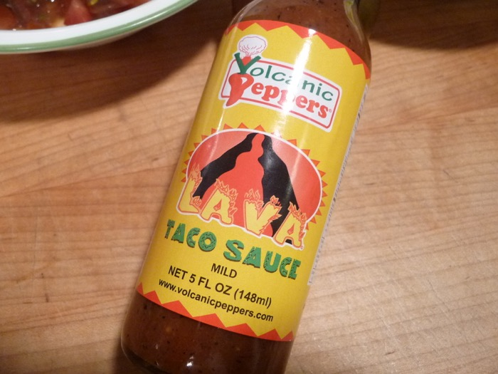 Volcanic Peppers Taco Sauce