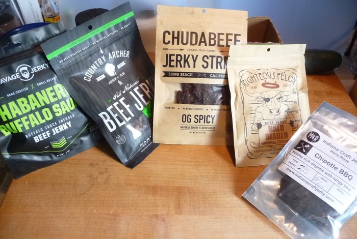 SumoJerky samples
