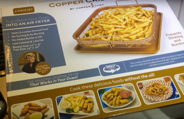 We try out the Copper Chef Copper Crisper Air Fryer