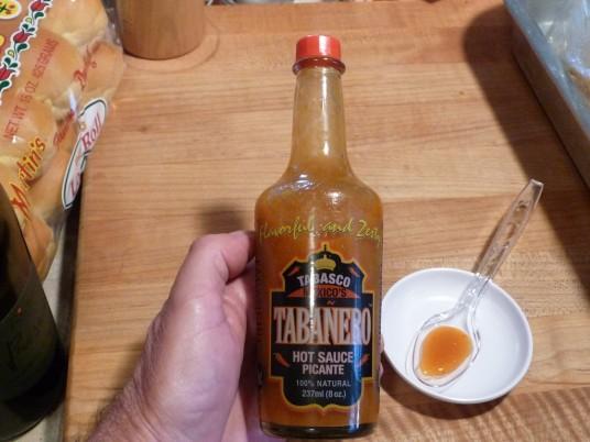 tabanero hot sauce bottle