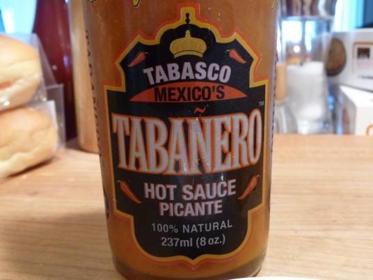 Tabanero Hot Sauce Label