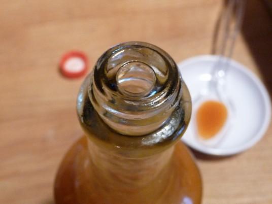 tabanero bottle has built in restrictor top