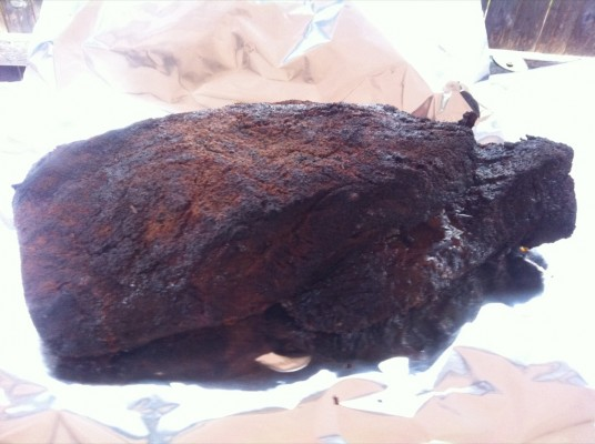 Deguello's Finished Brisket with Moo'd Enhancer