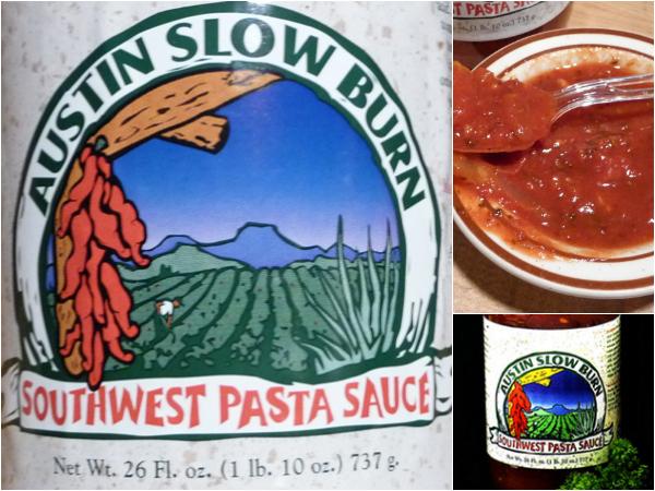 Austin Slow Burn Southwest pasta sauce