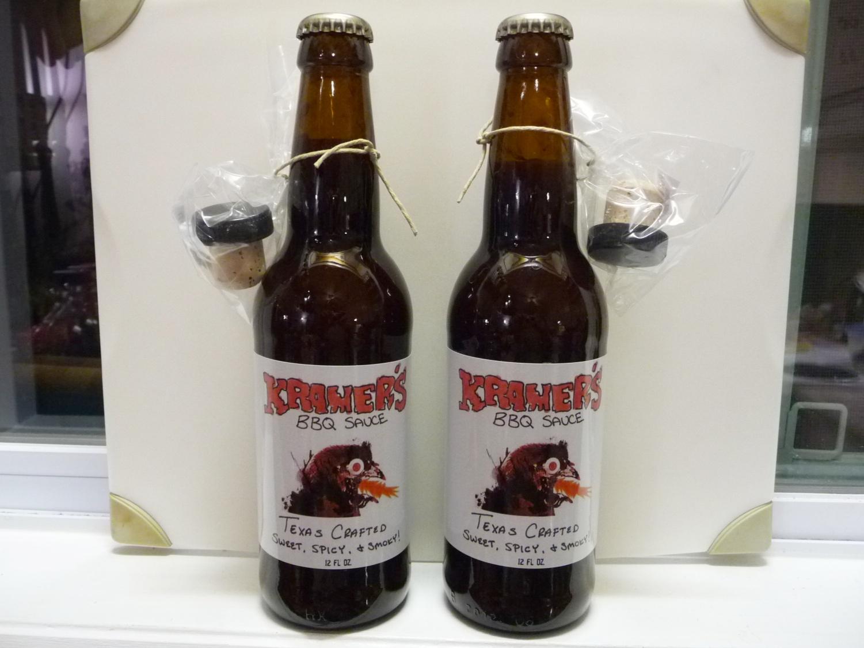 Nice beer bottle style packaging
