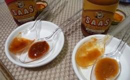 SAAS Original and Onion & Garlic side by side