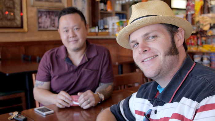 Randy Clemens and Jet Tila