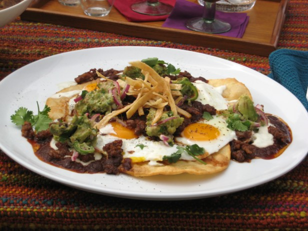 Ranch style eggs with chorizo