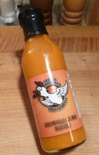 spicey rooster bottle
