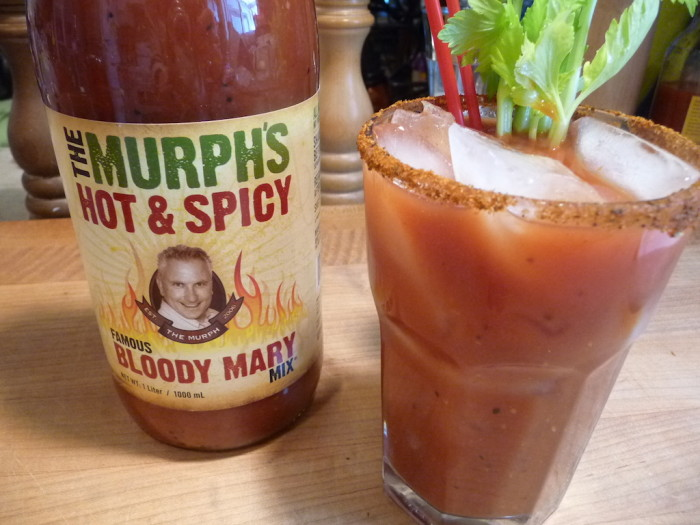 the murph's hot & spicy bloody mary