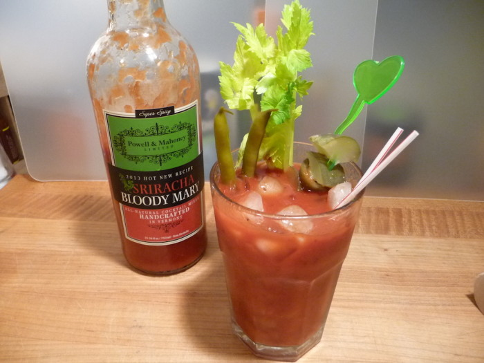 Powell & Mahoney Sriracha Bloody Mary Mix Drink