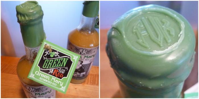Green Mary wax top seal