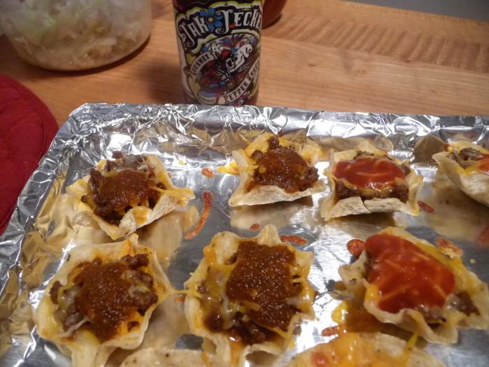 Jak Jeckel Original on nachos