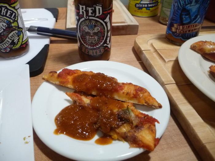 Jak Jeckel Red Heated on pizza
