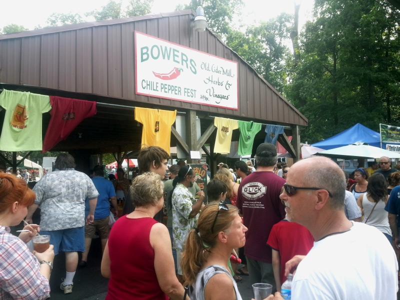 Bowers PA Chile Pepper Festival 2014 - HotSauceDaily