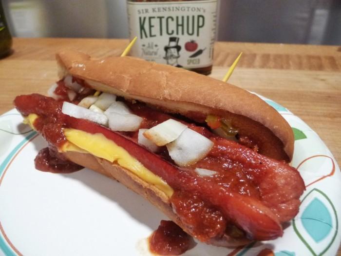 Hot dog with Sir Kensington's