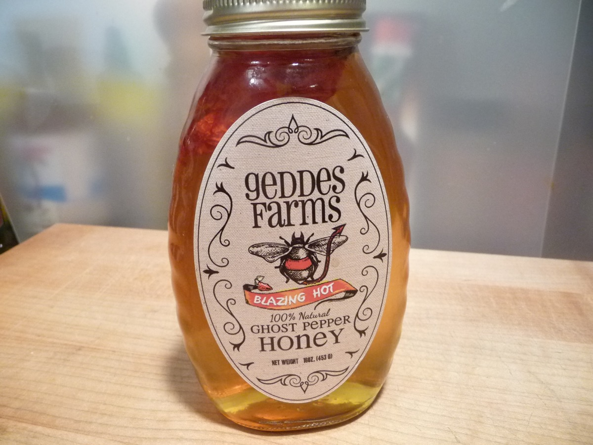 Geddes Farms Ghost Pepper Honey