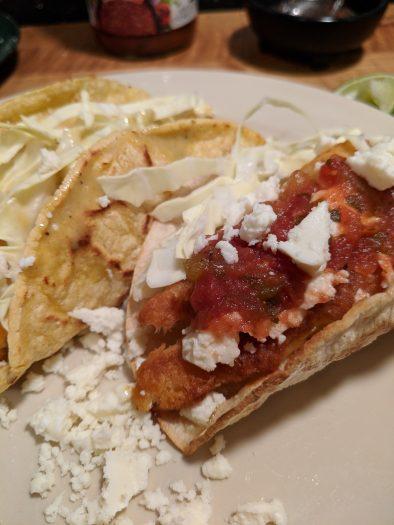 Fish Tacos Dinner