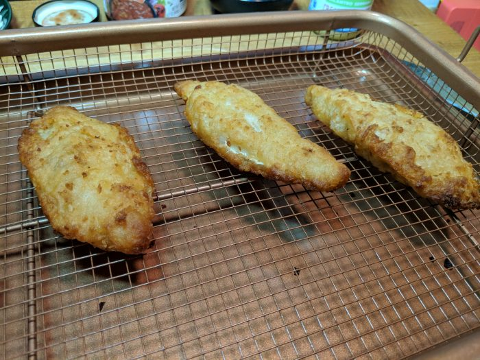 Fish Fillets done baking